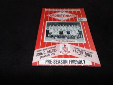 Airdrieonians v Luton Town, 1990/91 [Fr]